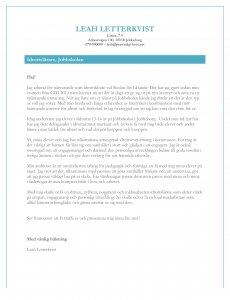 personligt brev idrottslärare
